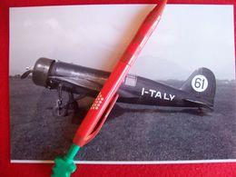 FOTOGRAFIA  AEREO  CAPRONI CAB PL-3 Matricola I-TALY - Aviazione