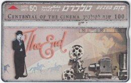 ISRAEL B-767 Hologram Bezeq - Cinema, Charlie Chaplin - 526K - Used - Israel