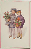 """""""Neujahr, Kinder, Blumen"""" 1910  ♥   - Enfants"""