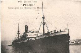 Messageries Maritimes Paquebot  PEI-HO Par Grosse Mer - Boten