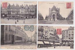 VALENCIENNES (Nord) - Lot Varié De 110 Cartes Postales Anciennes Petit Format - Valenciennes
