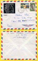 POLYNESIE - PAPEETE / 1970 LETTRE POUR LA FRANCE (ref 7418) - Covers & Documents