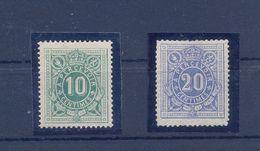 Nrs. TX1/TX2  * MH - Postzegels