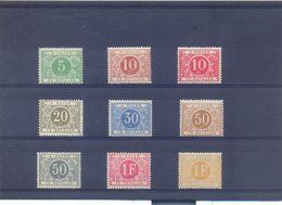 Nrs. TX3/TX11  * MH 70 Côte - Postzegels