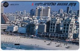 ISRAEL B-886 Hologram Bezeq - View, Town - 810C - Used - Israel