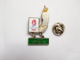 Beau Pin's , JO , Jeux Olympiques Albertville 92 , Parcours De La Flamme Lyon - Juegos Olímpicos