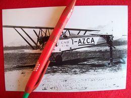 FOTOGRAFIA  AEREO  CAPRONI CAB C1  Matricola I-AZCA - Aviazione