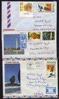NOUVELLE CALEDONIE /  1986 - 3 LETTRES AVION POUR LA FRANCE (ref 3085) - Nouvelle-Calédonie