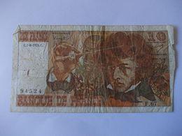 BILLET 10 Francs Berlioz P67 - 1962-1997 ''Francs''