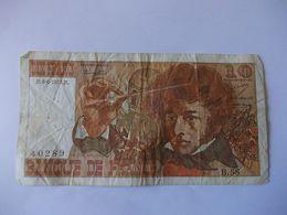 BILLET 10 Francs Berlioz B58 - 1962-1997 ''Francs''