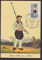 MC Montan Mining Freiberger Hüttenmann In Parade SoSt. Freiberg Bergbau Maxkarte - Cartoline Maximum