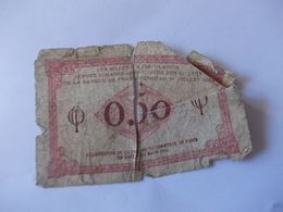 BILLET 50 Centimes Chambre Du Commerce 1920 - Chamber Of Commerce