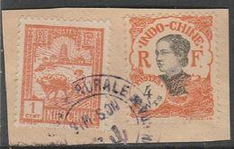 INDOCHINE - Oblitération POSTE RURALE Sur Fragment - Indocina (1889-1945)