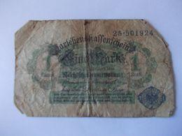 BILLET 1 Mark - Germania