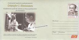 ROMANIA 2020: CHEMISTRY SCIENTIST Unused Prepaid Cover - Registered Shipping! - Química