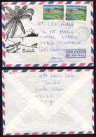 POLYNESIE - UTUROA - RAIATEA - ILES SOUS LE VENT  / 1981  LETTRE PAR AVION POUR LA FRANCE (ref 6618) - Polynésie Française