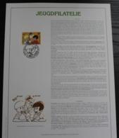 2707 'Jommeke' - Luxe Kunstblad - Oplage: 500 Exemplaren - FDC