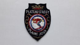 Ecusson PLATEAU D'ASSY – PLAINE JOUX - Ecussons Tissu