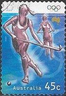 AUSTRALIA 2000 Olympic Games, Sydney -  45c - Hockey FU - 2000-09 Elizabeth II