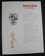 2528 'Natasja' - Luxe Kunstblad - Oplage: 500 Ex. - FDC