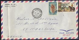 WALLIS & FUTUNA - MATA UTU /1971 LETTRE AVION POUR STRABOURG  (ref 6676) - Wallis-Et-Futuna