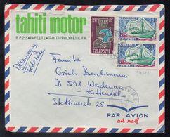 POLYNESIE - TAHITI - PAPEETE / 1970 LETTRE AVION POUR L'ALLEMAGNE (ref LE3751) - Lettres & Documents