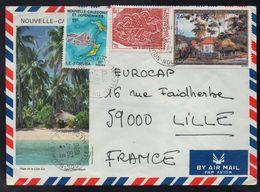 NOUMEA - NOUVELLE CALEDONIE / 1980 LETTRE AVION POUR LA FRANCE (ref LE3839) - Nouvelle-Calédonie