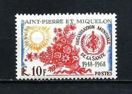 San Pedro Miquelon Nº 379 Nuevo - St.Pierre & Miquelon