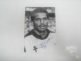 Photo FOOTBALL Signé Par  BERNARD LAMA , Metz , Signature Authographe - Photographie