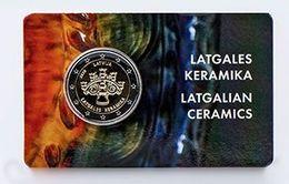 Latvia.2 Euro.2020.Latgalian Ceramics.BU. - Lettonie