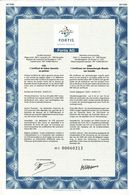 Titre Ancien - Fortis - Fortis AG - Société Anonyme -Titre De 2001 - - Banque & Assurance