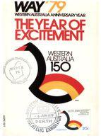 (C 10) Australia - Western Australia 150th Anniversary Maxicard - Australia