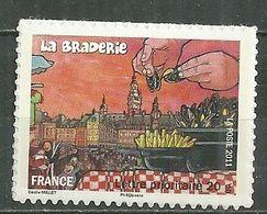 FRANCE MNH ** Adhésif Autocollant 568a Fête Et Traditions Des Régions Braderie De Lille Moules Frites - Sellos Autoadhesivos