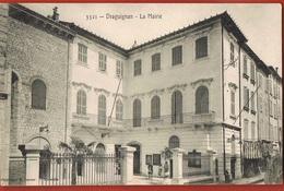 83- DRAGUIGNAN - La Mairie- Cpa écrite 1908-  -scans Recto Verso - Draguignan