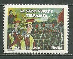 FRANCE MNH ** Adhésif Autocollant 583a Fête Et Traditions Des Régions La Saint Vincent Bougogne - Sellos Autoadhesivos