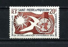San Pedro Miquelon Nº 358 Nuevo - St.Pierre & Miquelon