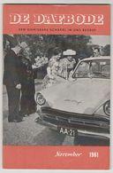 Brochure-leaflet: DE DAFBODE 1961 Prins Bernhard En Koningin Juliana - Camions