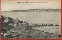 83- SANARY- Côte D'Azur- La Côte De La Gorguette à La Cride - Cpa -  -scans Recto Verso - Sanary-sur-Mer
