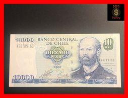 CHILE  10.000 10000 Pesos  2002  P. 157   XF+ - Chili