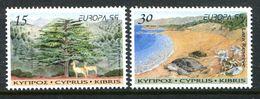 Cyprus 1999 Europa - Parks & Gardens Set MNH (SG 969-970) - Zypern (Republik)