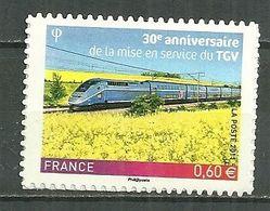 FRANCE MNH ** Adhésif Autocollant  603 (4592) Premier Train à Grande Vitesse TGV - Sellos Autoadhesivos