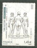 FRANCE MNH ** Adhésif Autocollant 634 (4627) Sculpture D'Aristide Maillol Les Trois Nymphes - Sellos Autoadhesivos