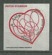 FRANCE MNH ** Adhésif Autocollant 648 Saint Valentin Patch D'amour D'Adeline André Coeur - Sellos Autoadhesivos