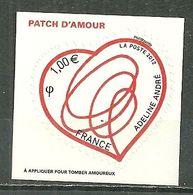 FRANCE MNH ** Adhésif Autocollant 649 Saint Valentin Patch D'amour D'Adeline André Coeur - Sellos Autoadhesivos