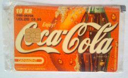10 Kr. Danmont Coca Cola MINT - Danemark