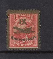 #21 Great Britain Lundy Island Puffin Stamps 1943 IX Anniversary 1/2p A Flaw - Emissione Locali