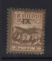 #32 Great Britain Lundy Island Puffin Stamps 1943 IX Anniversary 9p Mint - Emissione Locali