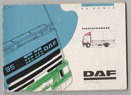 Brochure-leaflet: DAF Trucks Eindhoven Instructieboekje DAF 95 Serie - Camions