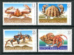 Cyprus 2001 Crabs Set MNH (SG 1017-1020) - Zypern (Republik)