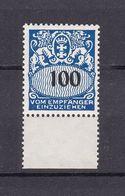 Danzig - Portomarken - 1938 - Michel Nr. 47 UR - Postfrisch - 80 Euro - Danzig